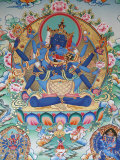 Tibetan Tantric Goddess, Kopan Monastery, Kathmandu, Nepal, Asia Photographic Print by Godong 
