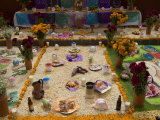 Decorations for the Day of the Dead Festival, Plaza Principal, San Miguel De Allende, Guanajuato Photographic Print by Richard Maschmeyer
