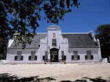 Groot Constantia, Cape Dutch Manor House and Vineyard, Cape Town's 4th Most Visited Attraction Photographic Print by John Warburton-lee