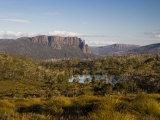 Mount Oakleigh on the Overland Track, Tasmania Photographic Print by Julian Love
