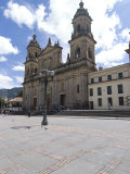 Cathedral at Plaza Bolivar, Bogota, Colombia, South America Photographic Print by Ethel Davies
