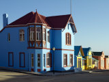 Street of Well Preserved German Colonial Houses in Luderitz, Namibia Photographic Print by Nigel Pavitt