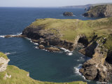 North Coast at Tintagel, Cornwall, England, United Kingdom, Europe Photographic Print by Rolf Richardson