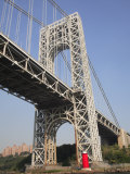 Little Red Lighthouse, George Washington Bridge, New York City Photographic Print by Wendy Connett