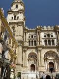 Catedral Del Encarnacion, Cathedral of Malaga, Malaga, Andalucia Photographic Print by Tony Waltham