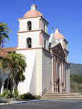 Santa Barbara Mission, Santa Barbara, California, United States of America, North America Photographic Print by Wendy Connett