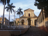 The Parroquial Mayor Church of the Santisima Trinidad in Plaza Mayor, Trinidad, Sancti Spiritus Photographic Print by John Harden