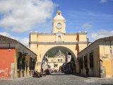 Santa Catarina Arch, Antigua, UNESCO World Heritage Site, Guatemala, Central America Photographic Print by Wendy Connett