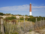 Barnegat Lighthouse in Ocean County, New Jersey, United States of America, North America Photographic Print by Richard Cummins