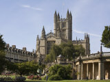 Abbey, Bath, UNESCO World Heritage Site, Avon, England, United Kingdom, Europe Photographic Print by Rolf Richardson