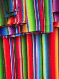 Mayan Textiles for Sale, Panajachel, Lake Atitlan, Guatemala, Central America Photographic Print by Wendy Connett