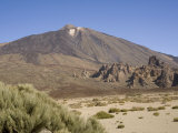 Mount Teide from Llano De Ucanca, Tenerife, Canary Islands, Spain, Europe Photographic Print by Rolf Richardson