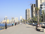 Corniche, Beirut, Lebanon, Middle East, Photographic Print