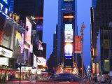 Times Square at Dusk, Manhattan, New York City, New York, United States of America, North America Photographic Print by Amanda Hall