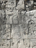 Stone Reliefs in the Great Ball Court, Chichen Itza, Yucatan Photographic Print by Richard Maschmeyer