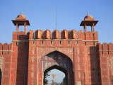 Aimeri Gate, Main Gate to Old City, Pink City, Jaipur, Rajasthan, India, Asia Photographic Print by Wendy Connett