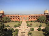 Mughal Gardens, Jaigarh Fort, Victory Fort, Jaipur, Rajasthan, India, Asia Photographic Print by Wendy Connett