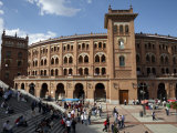 Plaza De Toros De Las Ventas, the Famous Bullfighting Venue in Madrid, Spain, Europe Photographic Print by Andrew Mcconnell