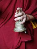 Gantha Tibetan Bell, Kathmandu, Nepal, Asia Photographic Print by  Godong
