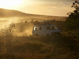 Tourists on Safari in the Masai Mara National Reserve, Kenya, East Africa, Africa Photographic Print by Andrew Mcconnell