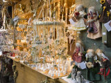 Christmas Merchandise at Stall of Christmas Stern Advent Markt, Salzburg, Austria, Europe Photographic Print by Richard Nebesky
