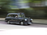 Taxi Cab, London, England, United Kingdom, Europe Photographic Print by Michael Kelly