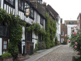 Mermaid Inn, Mermaid Street, Rye, Sussex, England, United Kingdom, Europe Reproduction photographique par Ethel Davies
