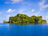 Rock Islands, Republic of Palau, Pacific Photographic Print by Nico Tondini