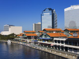 Riverfront and the Jacksonville Landing, Jacksonville, Florida Photographic Print by Richard Cummins