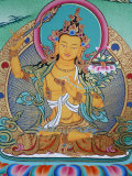 Manjushri, Divinity of Knowledge, Kopan Monastery, Kathmandu, Nepal, Asia Photographic Print by Godong 