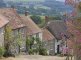Gold Hill in June, Shaftesbury, Dorset, England, United Kingdom, Europe Photographic Print by Jean Brooks