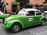Volkswagen Taxi Cab, Mexico City, Mexico, North America Photographic Print by Wendy Connett