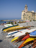 Camogli, Liguria, Italy, Europe Photographic Print by Angelo Cavalli