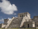 El Castillo, Tulum, Quintana Roo, Mexico, North America Photographic Print by Richard Maschmeyer