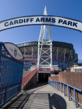 Cardiff Millennium Stadium at Cardiff Arms Park, Cardiff, Wales, United Kingdom, Europe Photographic Print by Ethel Davies