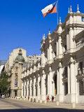 Palacio De La Moneda, Santiago, Chile, South America Photographic Print by Michael DeFreitas