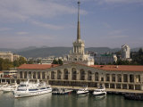 Harbour Terminal, Sochi, Caucasus, Russia, Europe Photographic Print by Rolf Richardson