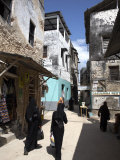 The Narrow Streets of Lamu Town, Lamu, Kenya, East Africa, Africa Photographic Print by Andrew Mcconnell