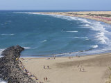 Playa Del Ingls, Maspalomas, Gran Canaria, Canary Islands, Spain, Europe Photographic Print by Michael Kelly