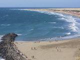 Playa Del Ingls, Maspalomas, Gran Canaria, Canary Islands, Spain, Europe Photographic Print by Michael Kelly