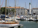 General View of the Yatch Basin and Lighthouse, La Rochelle, Charente-Maritime, France, Europe Photographic Print by Peter Richardson