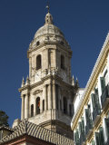 Catedral Del Encarnacion, the Single Bell Tower, the Cathedral of Malaga, Andalucia Photographic Print by Tony Waltham