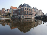 Canals at the Centre of the Old Town, Leiden, Netherlands, Europe Photographic Print by Ethel Davies