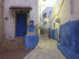 Typical Street in Old Town, Rabat, Morocco, North Africa, Africa Photographic Print by Vincenzo Lombardo