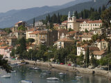 Volosco Harbour, Opatija, Kvarner Riviera, Croatia, Adriatic, Europe Photographic Print by Rolf Richardson