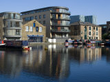 Battlebridge Basin and London Canal Museum, Near Kings Cross, London, Nw1 Photographic Print by Ethel Davies