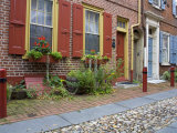 Historic Elfreth's Alley, Old City District, Philadelphia, Pennsylvania Photographic Print by Richard Cummins