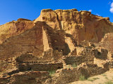 Pueblo Bonito Chaco Culture National Historical Park Scenery, New Mexico Photographic Print by Michael DeFreitas