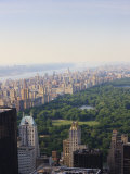 View over Central Park and the Upper West Side Skyline, Manhattan Photographic Print by Amanda Hall