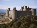 Harlech Castle, UNESCO World Heritage Site, Gwynedd, Wales, United Kingdom, Europe Photographic Print by Nigel Blythe